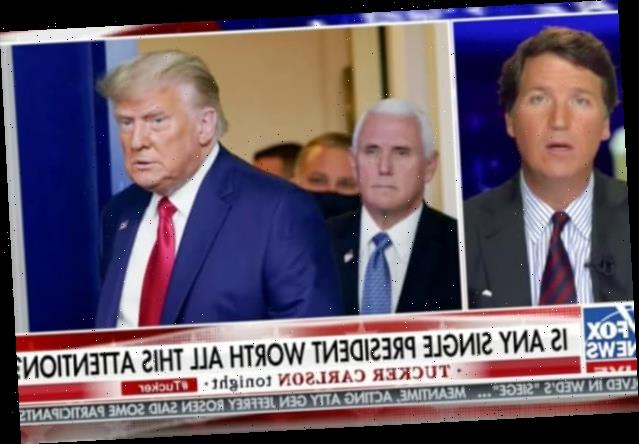 Tucker Carlson Thinks It's Weird Everyone Is So Mad At Trump Right Now