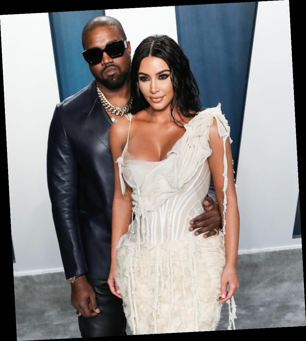 Kim Kardashian hasn't filed for divorce yet because she's still not sure?