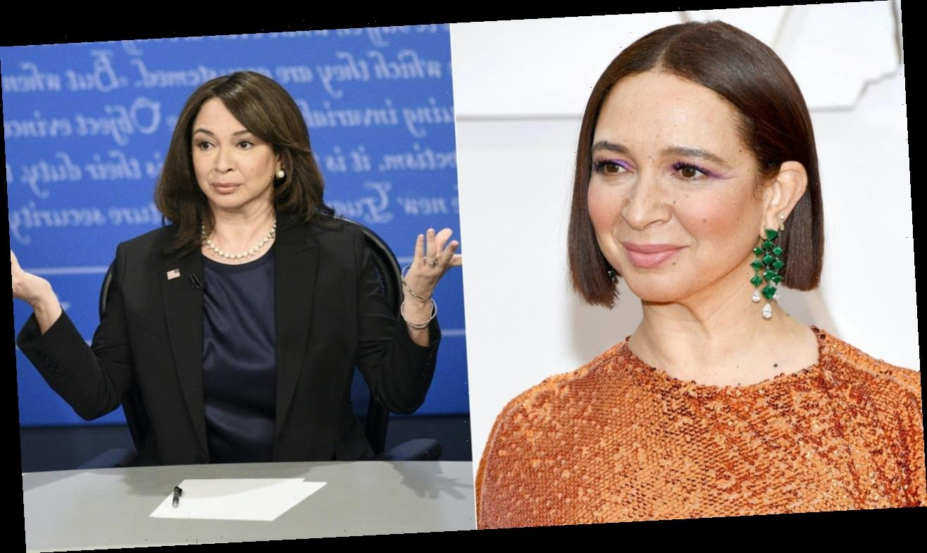 Why Maya Rudolph Was Stressed Out About Returning to Play Kamala Harris on SNL