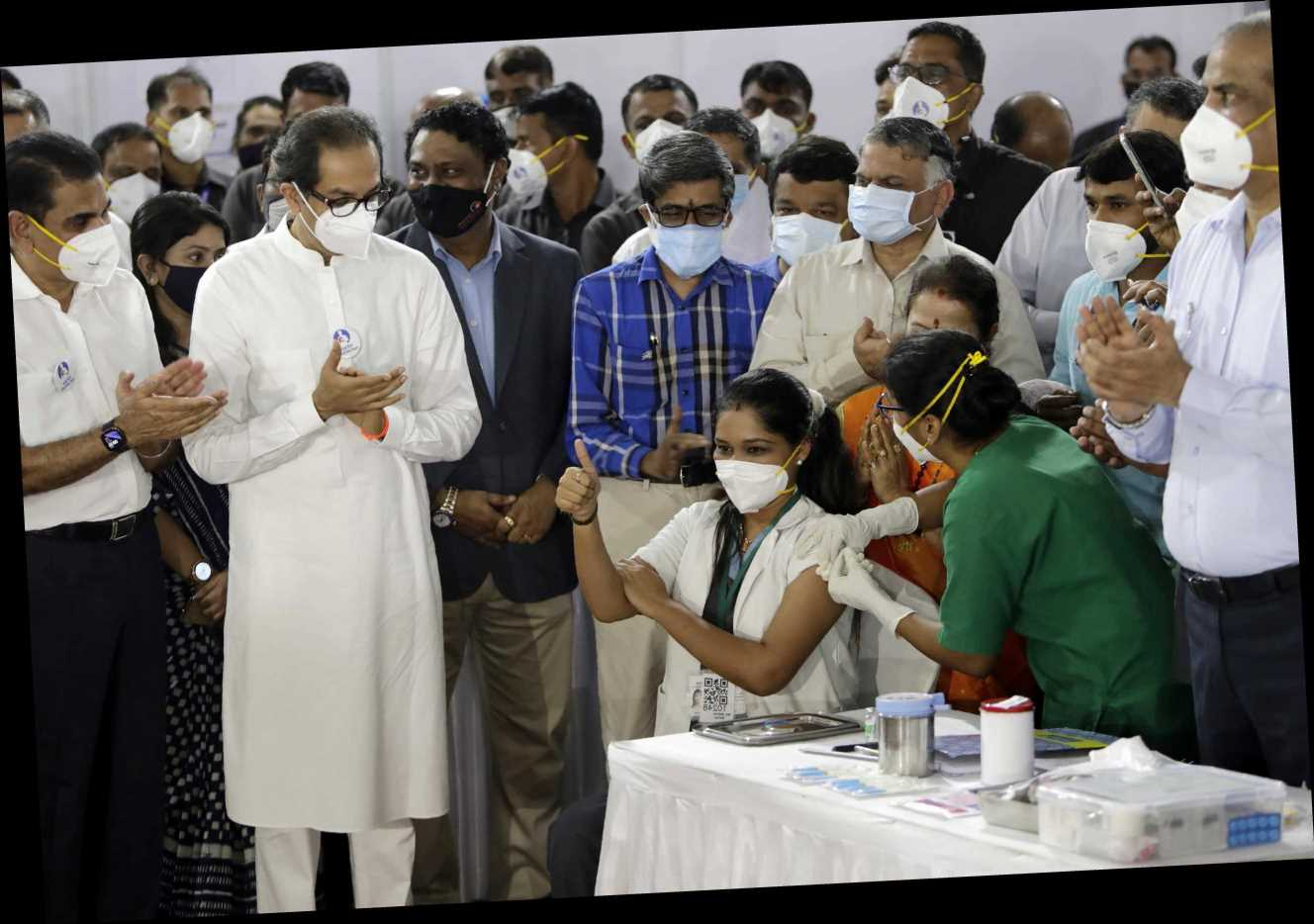 India starts 'world's biggest' COVID-19 vaccination drive