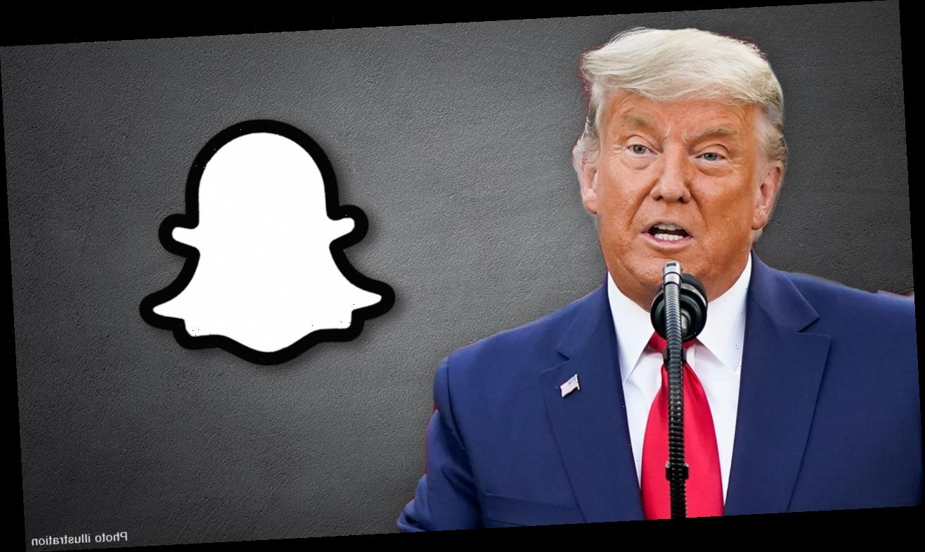 Snapchat to ban Trump from platform