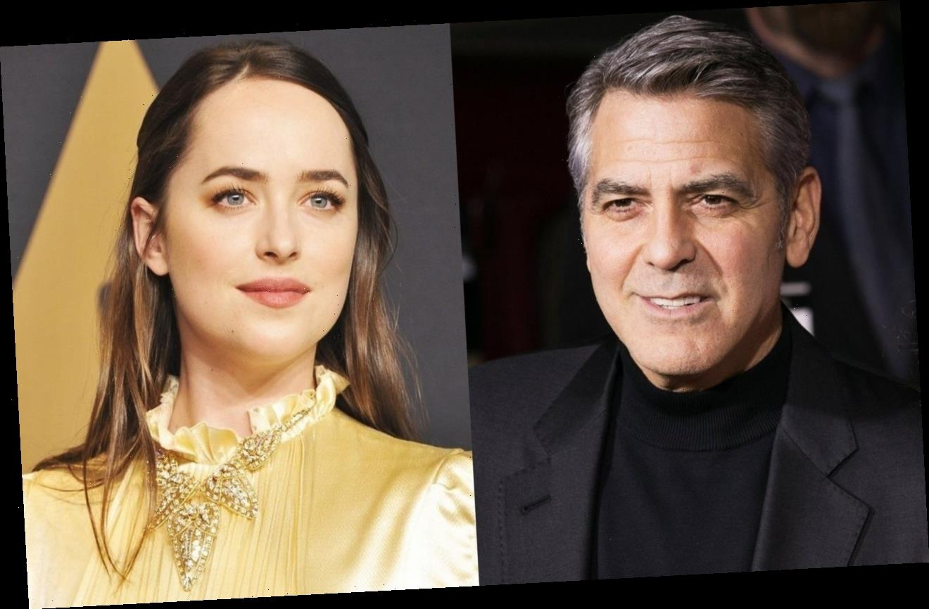 This Is How George Clooney Reacts to Dakota Johnson Using His Name to Make Restaurant Reservations