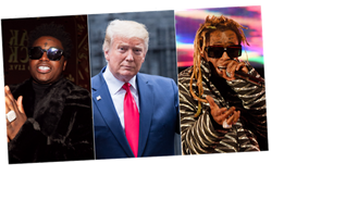 President Donald Trump Grants Clemency to Lil Wayne and Kodak Black
