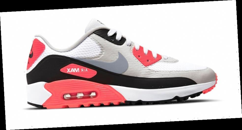 Nike Golf Debuts OG Infrared Air Max 90 Colorway
