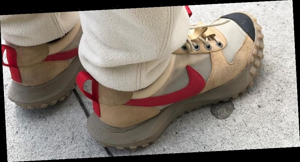 Tom Sachs Spotted Wearing NikeCraft Mars Yard 2.5 With ACG Sole Unit