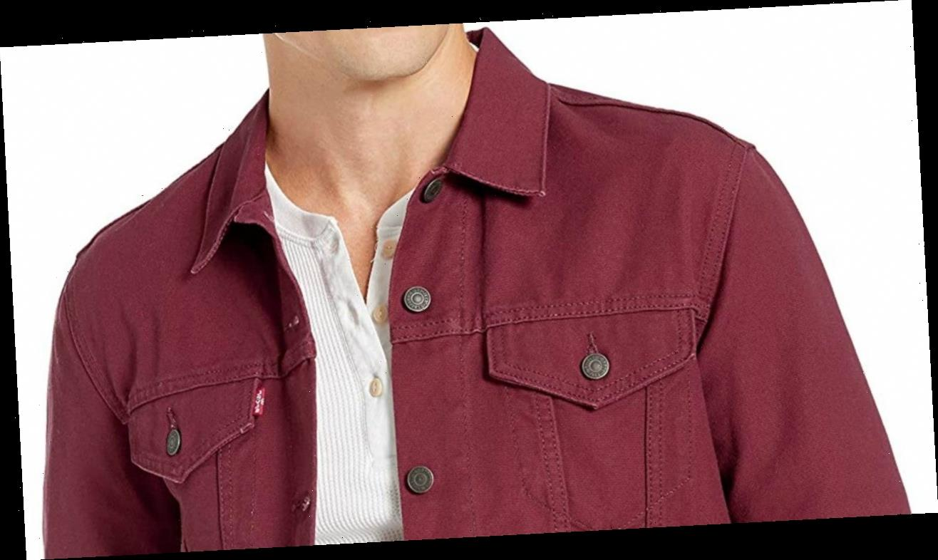 The Best Levi's Jean Jackets For Men at Amazon's New Year Sale