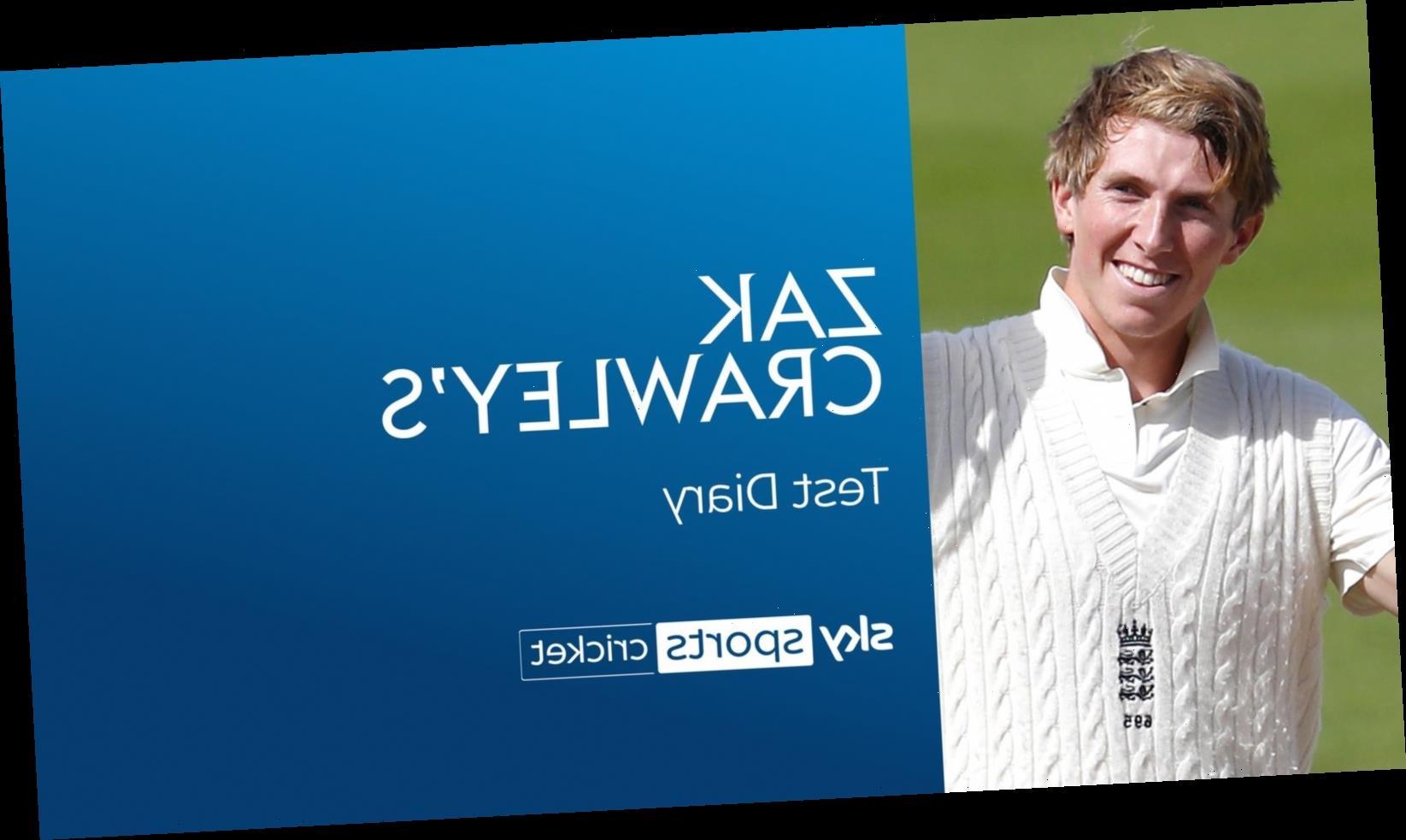 England batsman Zak Crawley on 267 vs Pakistan and how Rob Key fuelled international ambitions