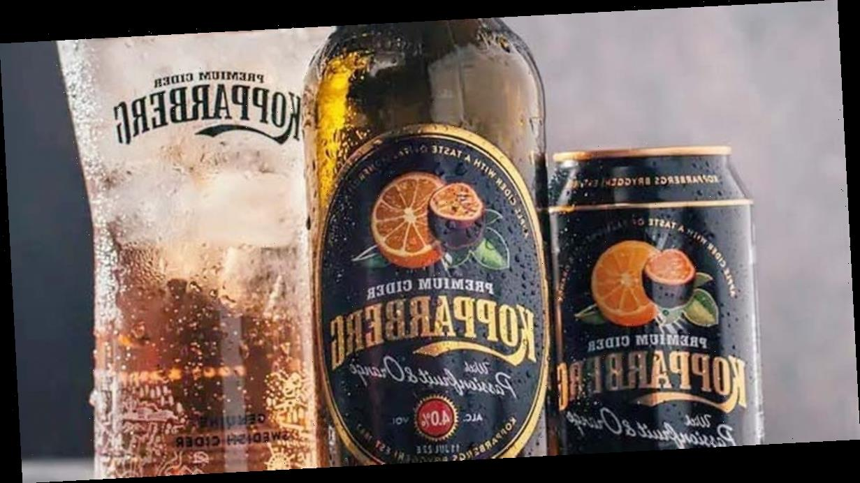 Kopparberg launches brand new Orange & Passionfruit Cider flavour