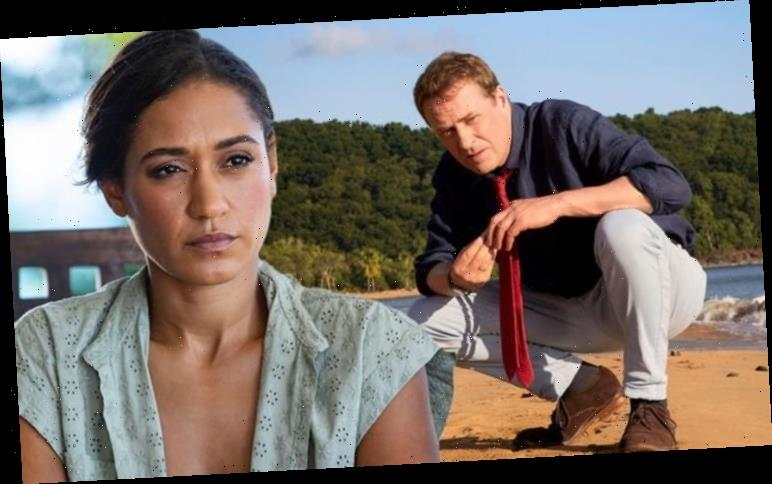 Josephine Jobert admits 'I wanted to take care' of Ardal O'Hanlon on Death In Paradise set