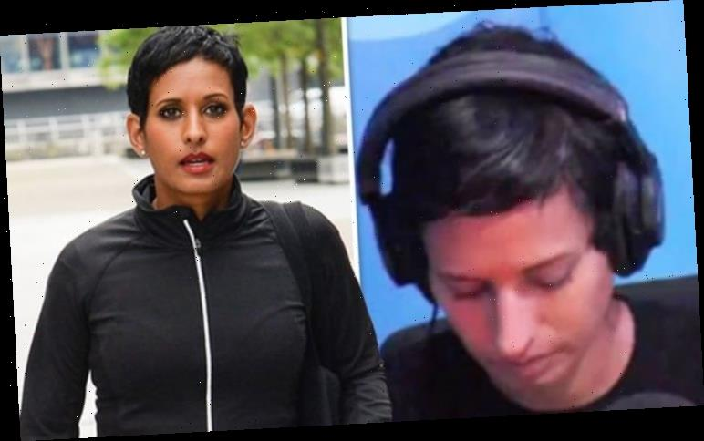 Naga Munchetty: BBC Breakfast host fakes falling asleep on-air in jibe to co-star 'Sorry'