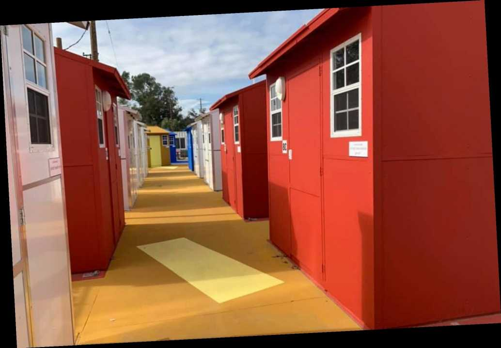 Village of tiny homes combats homelessness in Los Angeles area