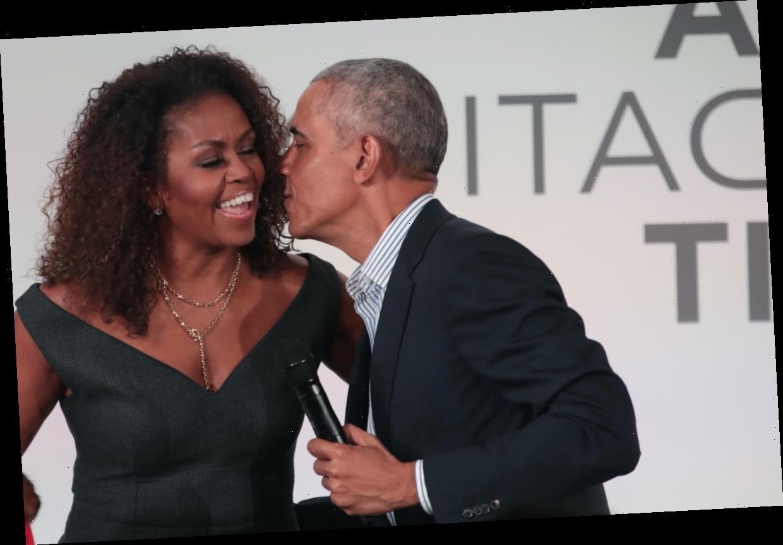 Barack Obama's Valentine's Day Post To Michelle, Sasha, & Malia Had A Sweet Message
