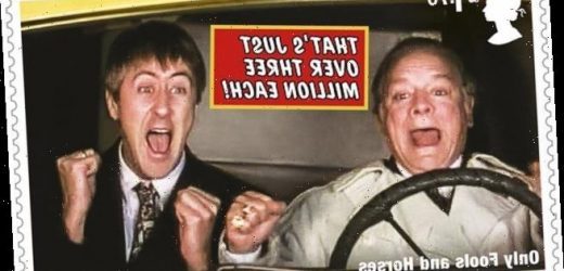 Royal Mail releases set of Only Fools And Horses anniversary stamps