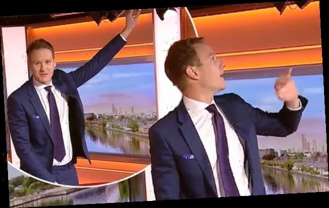 BBC Breakfast's Dan Walker is mocked by viewers