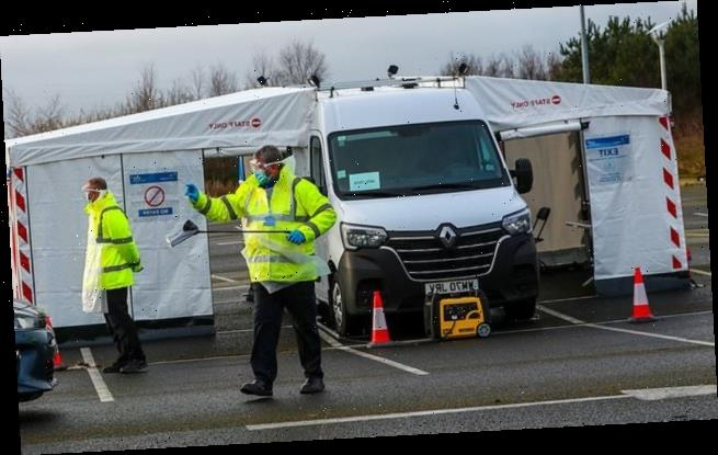Surge Covid testing is rolled out in Staffordshire