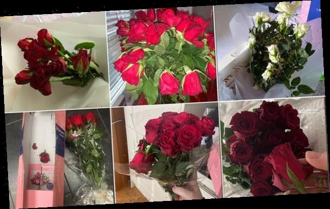 Social media users complain Valentine's flowers are delivered damaged