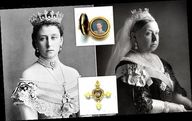 Queen Victoria's mementos of her beloved daughter go up for auction