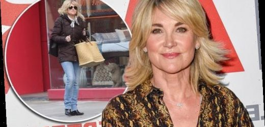 Anthea Turner 'flouts Covid rules by hosting a secret pamper party'