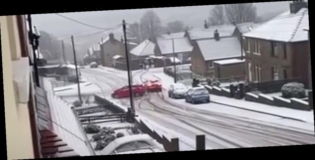 Icy Roads Supercut Videos Show Why Some Days You Should Just Stay Home