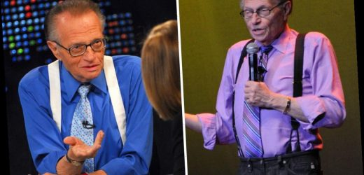 Larry King's cause of death confirmed as sepsis weeks after CNN talk show host died at 87