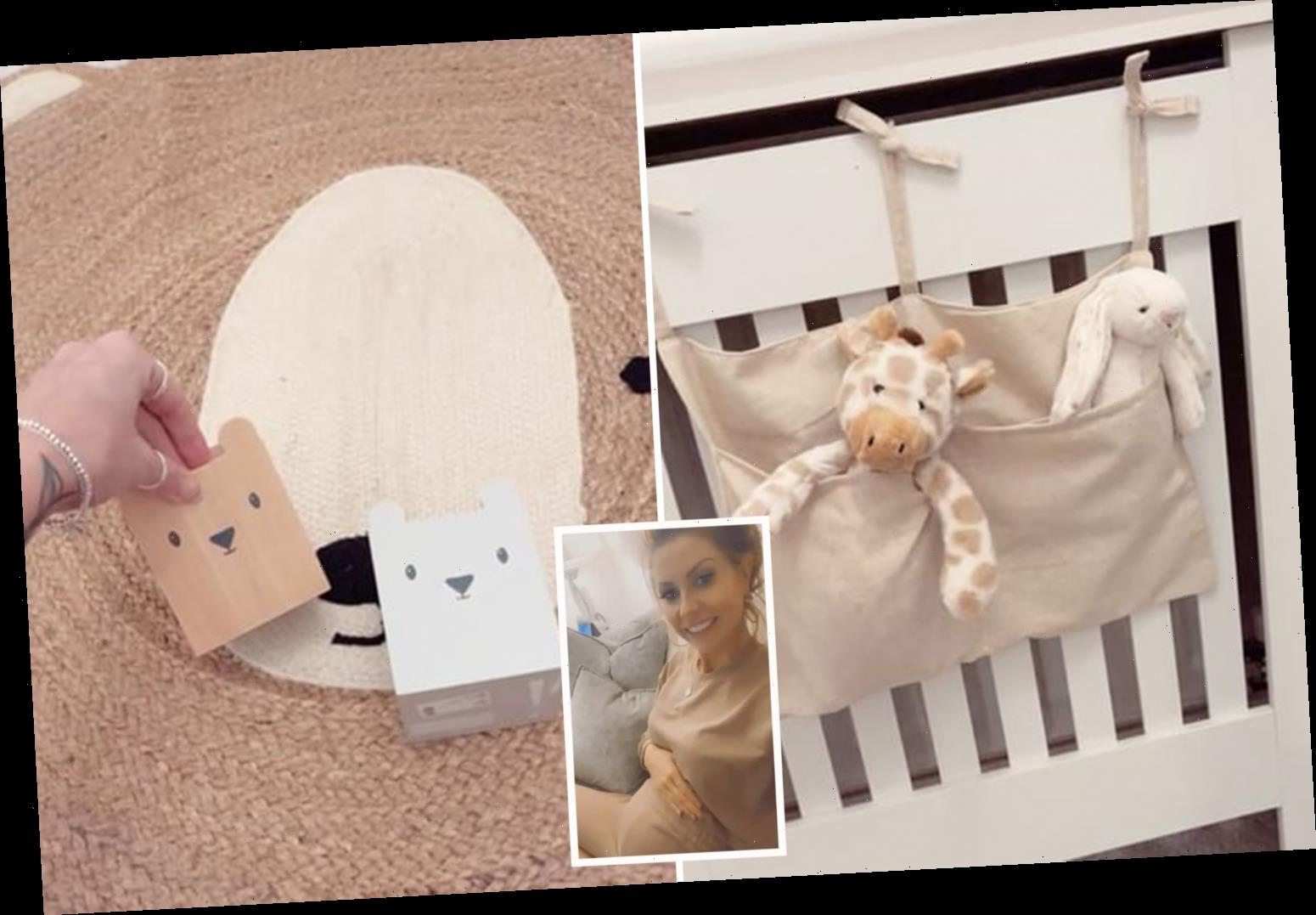 Mrs Hinch shows off her HUGE H&M & eBay haul for her new baby's nursery as she reveals progress