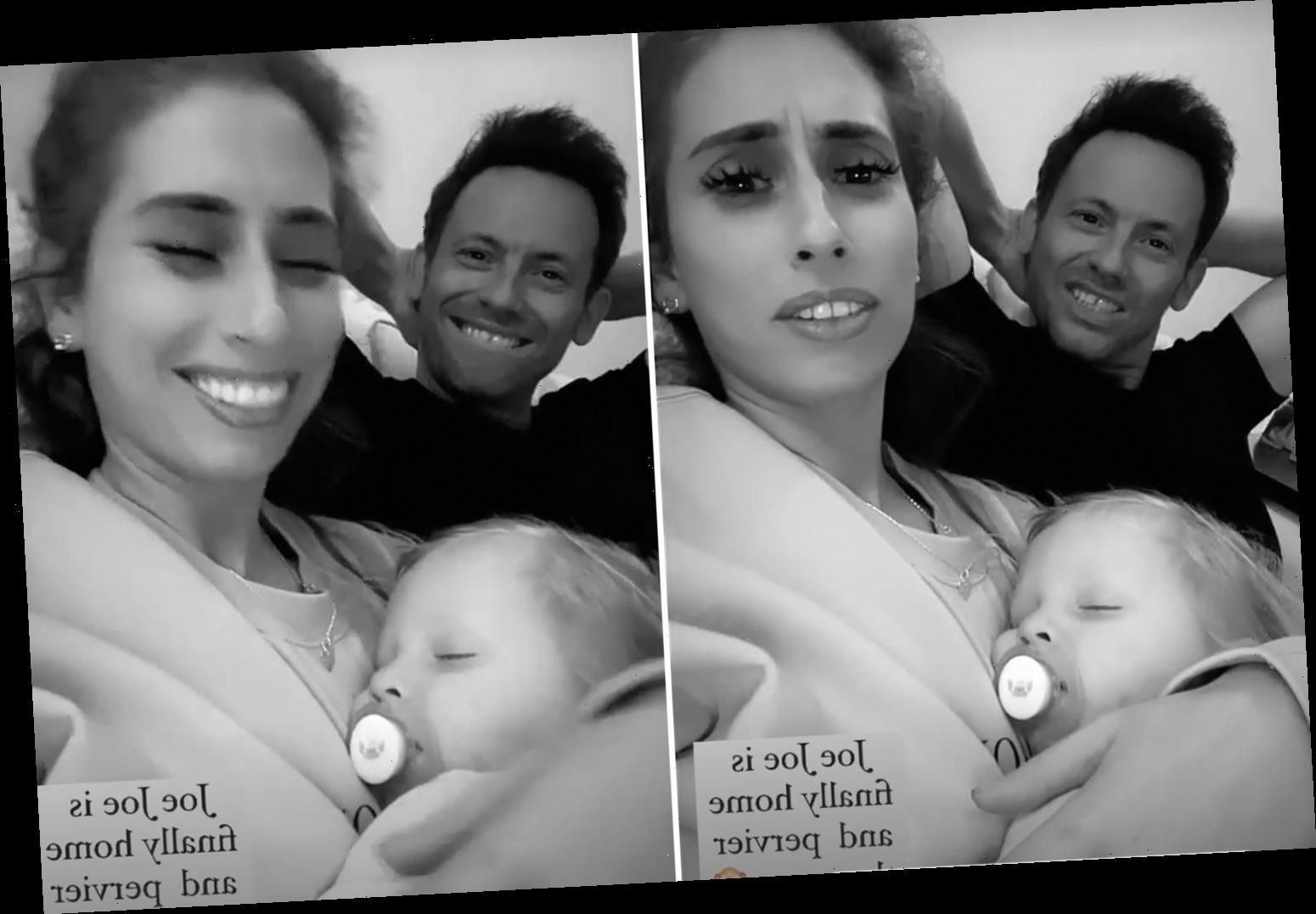 Stacey Solomon says fiancé Joe Swash is 'pervier than ever' as he returns home late at night