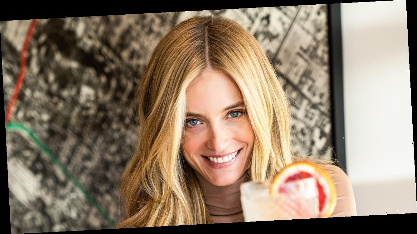 Kate Bock Is Making a 'Berry Special' Pompette Cocktail for Her Valentine