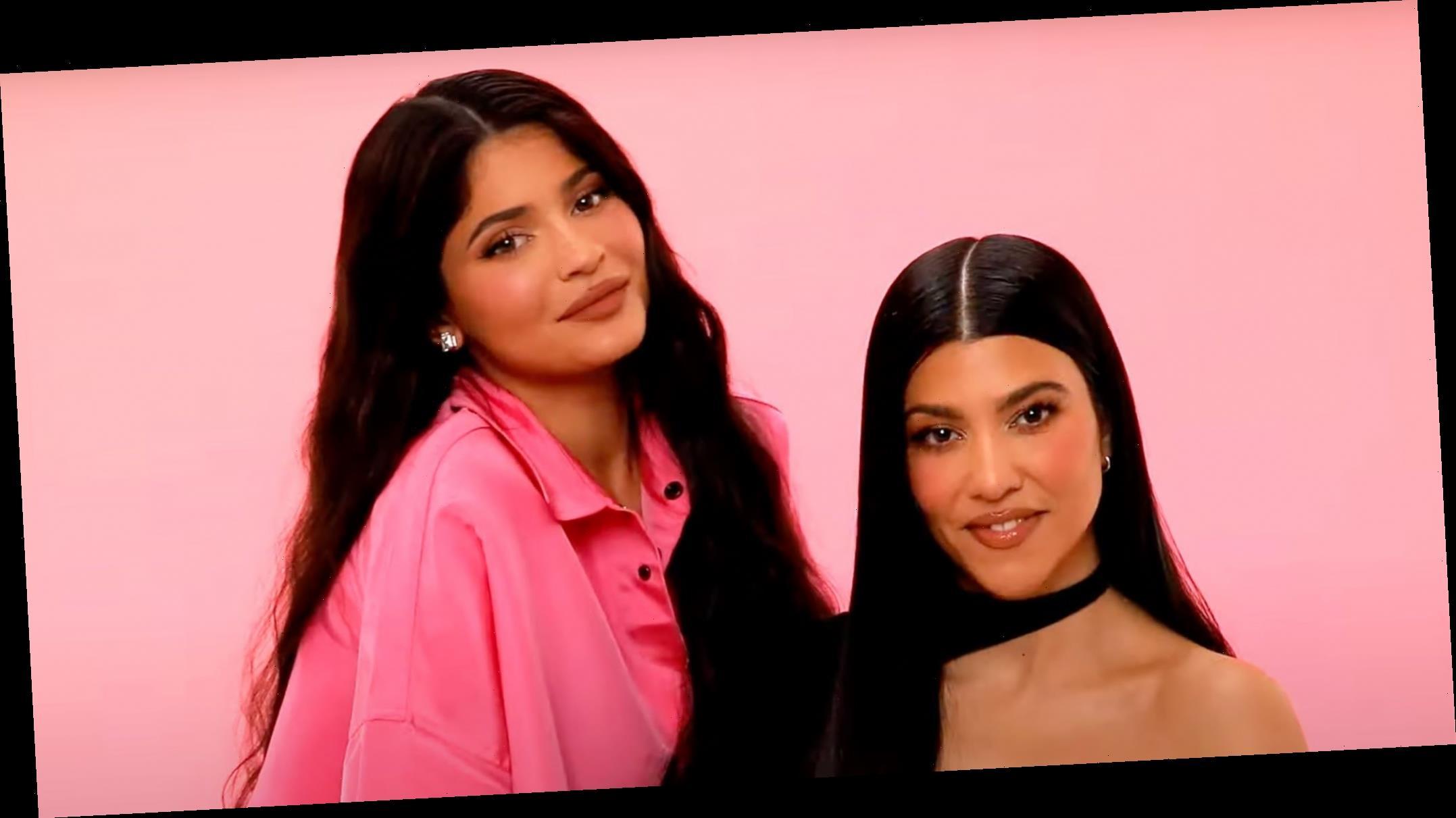 Watch Kylie Jenner Do Sister Kourtney's Makeup in New Video