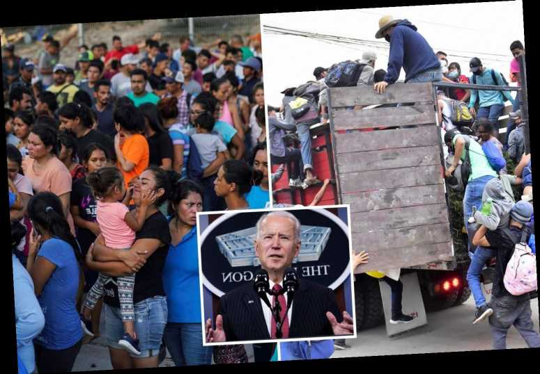 Biden to allow 25,000 asylum seekers from Mexico to flood in US NEXT WEEK while they wait for hearings