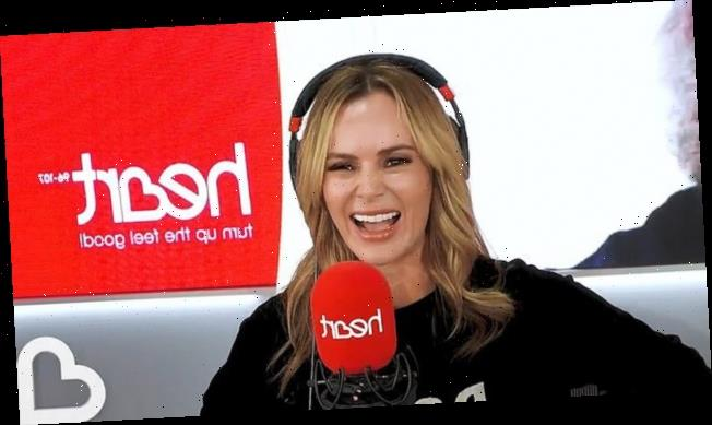 Why is Amanda Holden not on Heart radio today?