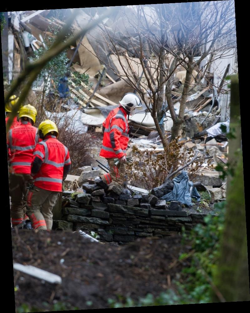 Mum describes incredible escape from house explosion with daughter, 6, and says 'someone was watching over us'