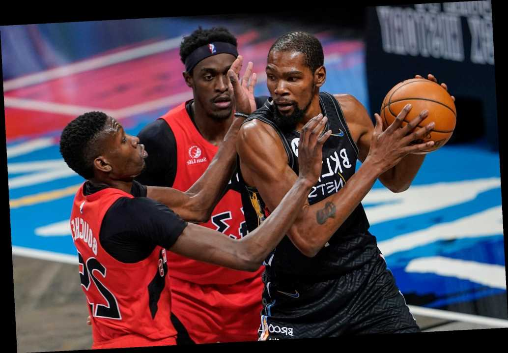 Kevin Durant pulled from Nets game amid COVID-19 concerns to end strange night