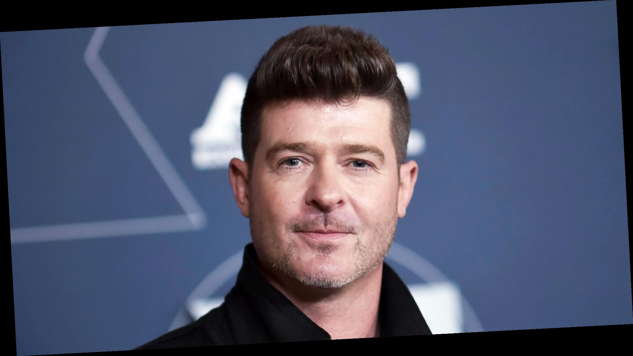 Robin Thicke: I Go to Therapy With My Fiancee and Ex-Wife