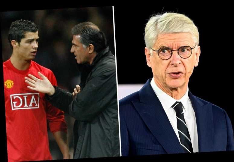 Wenger says Arsenal's Cristiano Ronaldo transfer collapsed after Queiroz joined Man Utd and urged them to hijack move
