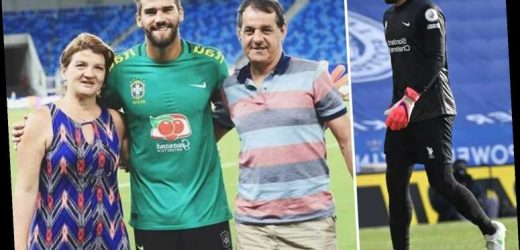 Alisson's dad laid to rest in private ceremony in Brazil with heartbroken Liverpool keeper unable to attend funeral