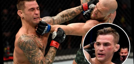 Dustin Poirier ready to accept Conor McGregor rematch… but UFC star insists it should not be for the lightweight title