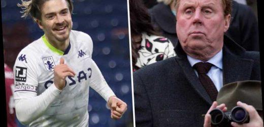 Jack Grealish deserves Premier League player of season after 'incredible' Aston Villa season, says Harry Redknapp