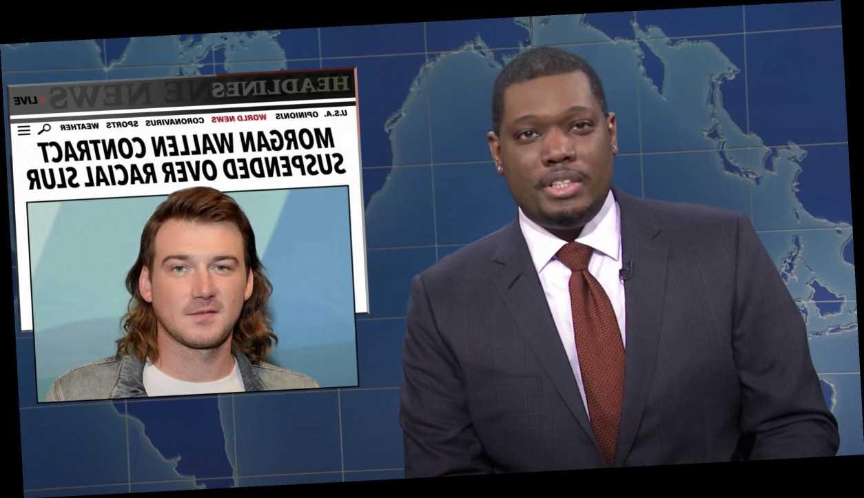 'SNL': Weekend Update Covers Morgan Wallen, Marjorie Taylor Greene