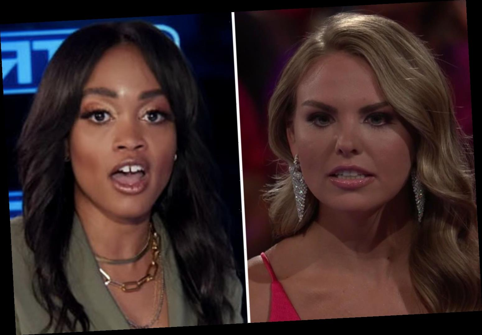 Bachelorette Hannah Brown SLAMMED by Rachel Lindsay for 'deleting' photo of herself at a 'racist' antebellum party