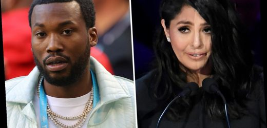 Meek Mill apologizes to Kobe Bryant's wife Vanessa after she slams rapper for 'insensitive' lyric about NBA star's death