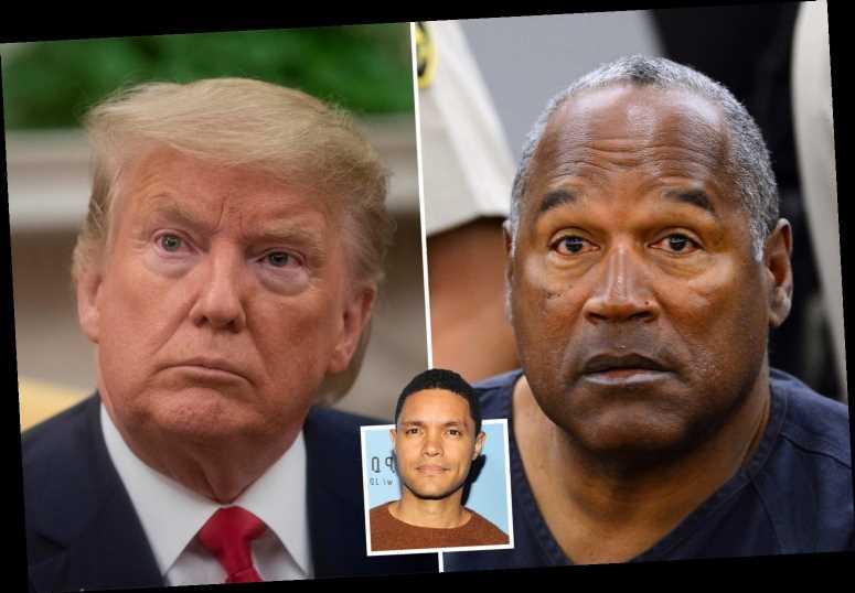 Trevor Noah likens Trump to O.J. Simpson after impeachment acquittal but jokes ex-prez is 'responsible for more deaths'
