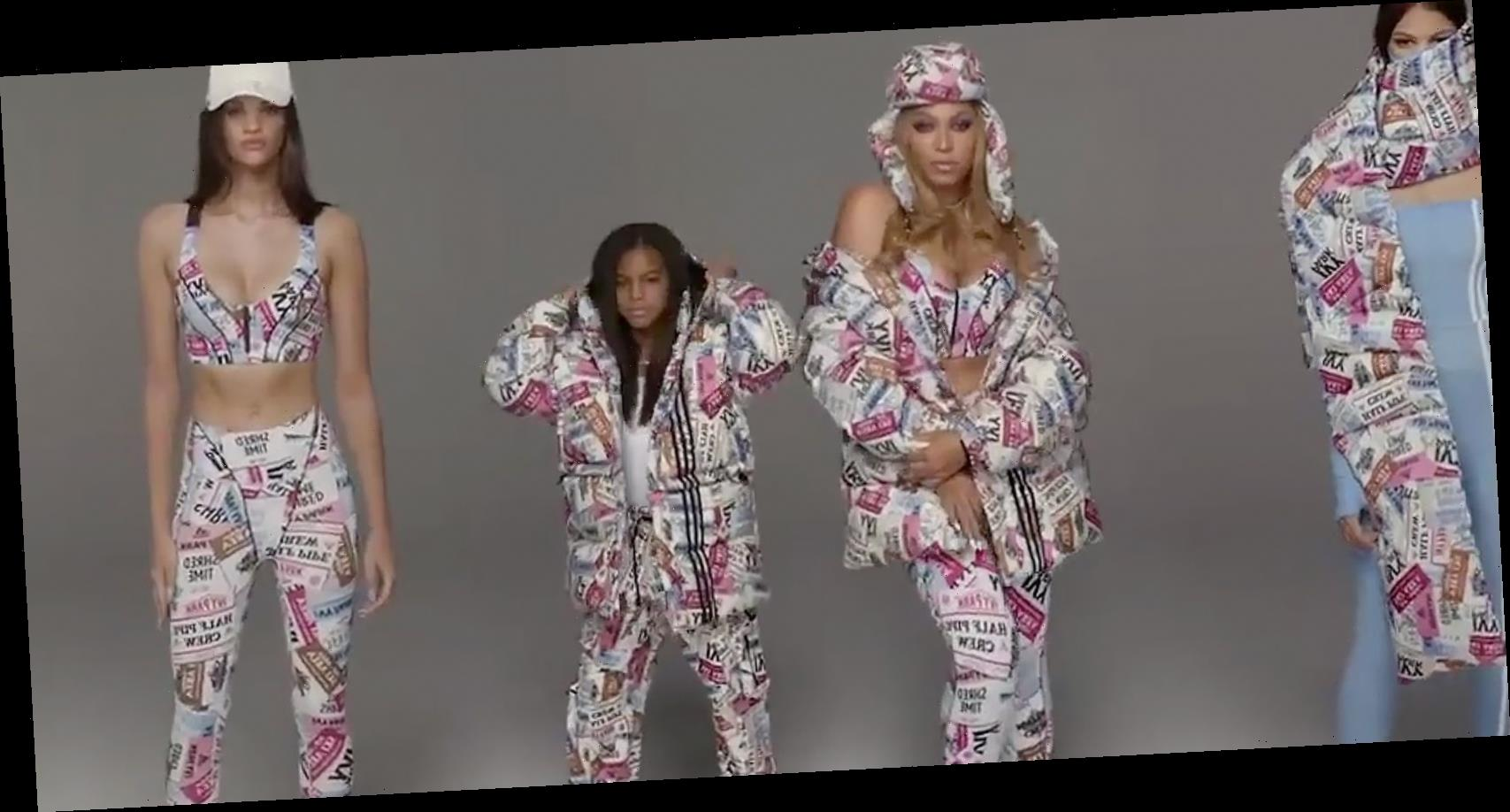 Blue Ivy, Total Boss, Casually Inserted Herself Into Beyoncé's Icy Park Photoshoot