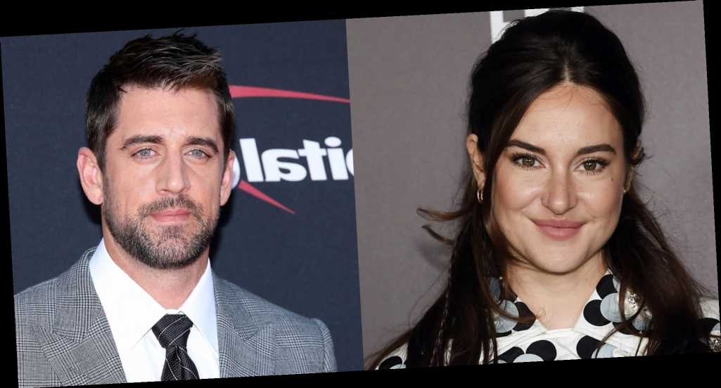 Aaron Rodgers Announced He's Engaged Amid Shailene Woodley Dating Rumors