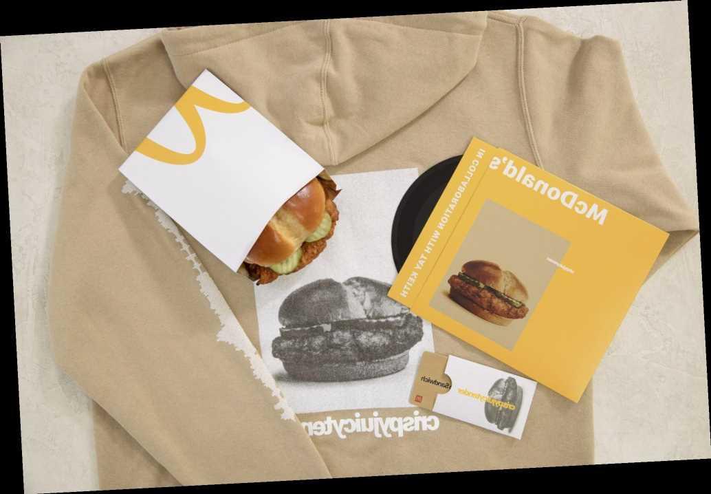 McDonald's is Selling Crispy Chicken Sandwich Hoodies for $5
