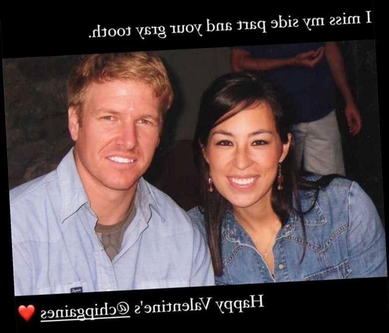 Joanna Gaines Shares Throwback Photo with Husband Chip in Honor of Valentine's Day