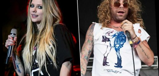 Mod Sun tattoos rumored girlfriend Avril Lavigne's name on his neck