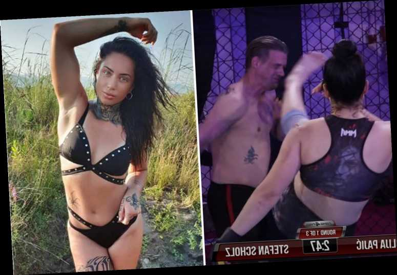 Julija Pajic is MMA sensation who beat up MALE opponent and vows to donate $1million PFL prize money to her mum