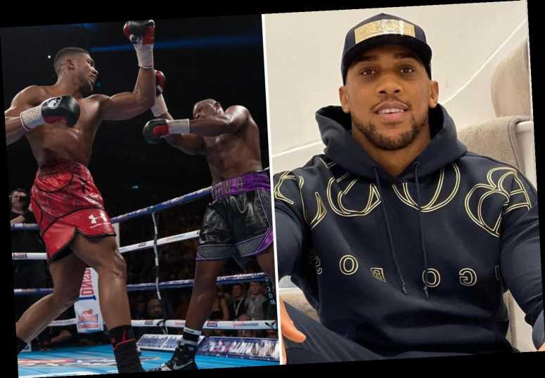 Anthony Joshua reveals favourite KO of his career was knocking out Dillian Whyte after being dragged into trash talk