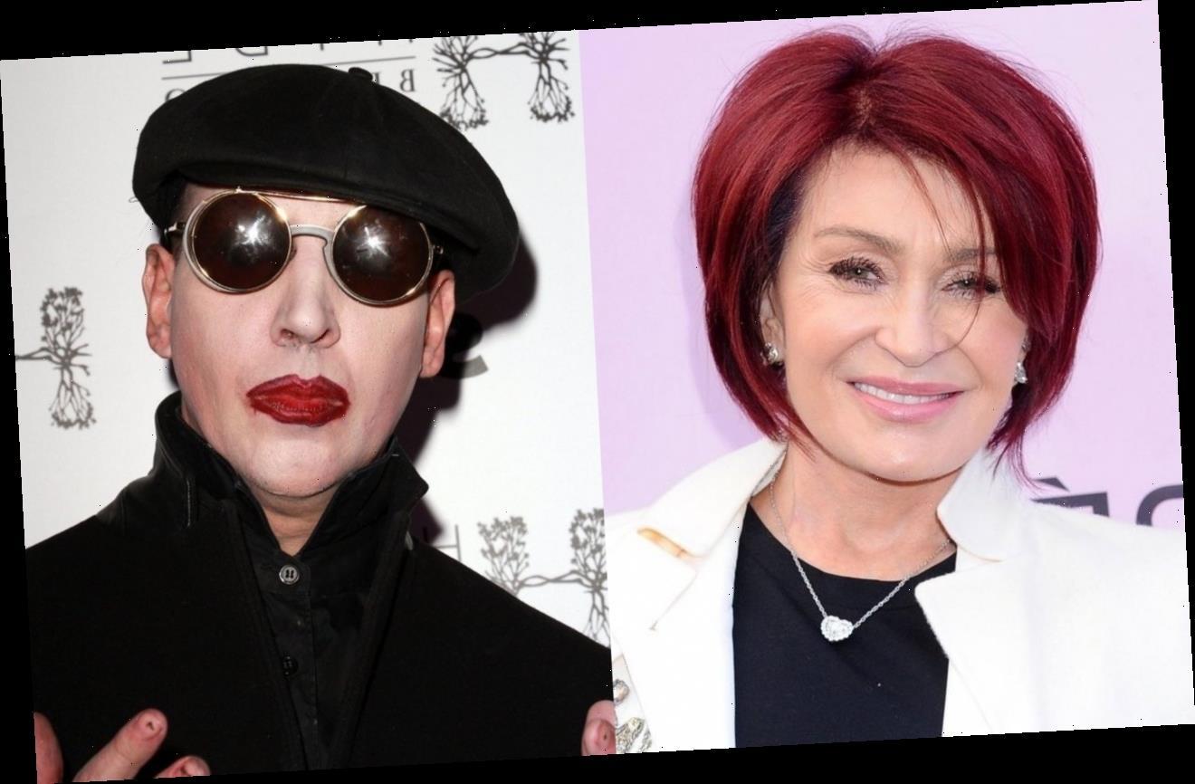 Sharon Osbourne Insists Marilyn Manson Has Always Been Respectful Towards Her