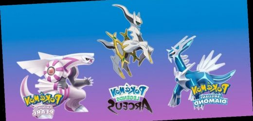 Pokémon Officially Announces 'Brilliant Diamond and Shining Pearl' Remakes and 'Legends: Arceus' Games